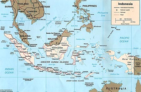 Indonesia Map - Map of Indonesia - Indonesia Travel Map ... Indonesia Travel Maps