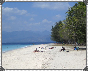 Gili Islands in Lombok, Indonesia